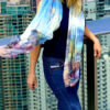 Australian Outback Pure Silk Scarf Wrap